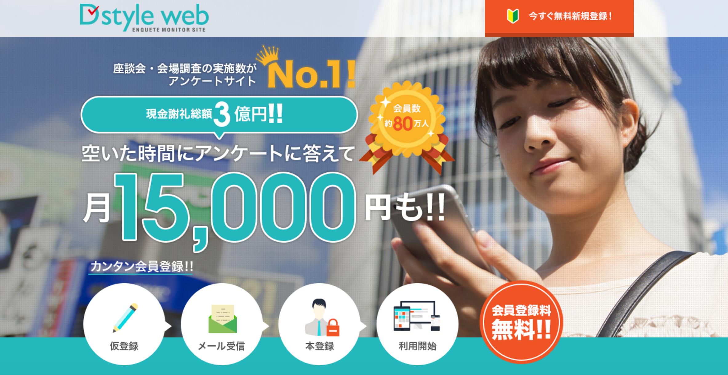 D Style Webのホームページ