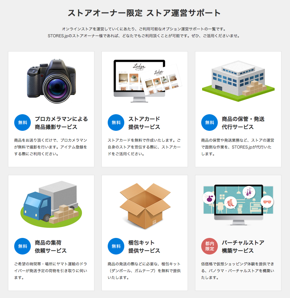 Stores.jpの販促サポート